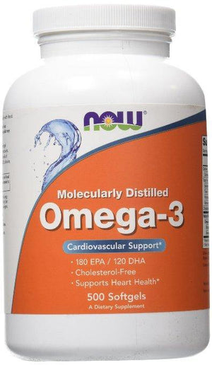 NOW Foods Omega-3 500 Softgels - NutriVita