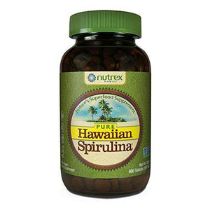 Nutrex Hawaii - Pure Hawaiian Spirulina 500mg 400 Tablets