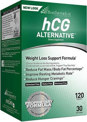 BioGenetic Laboratories - HCG Alternative 120 Capsulas - NutriVita