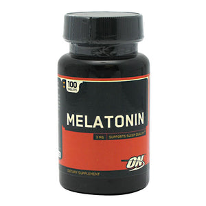 Optimum Nutrition - Melatonina 3mg 100 Capsulas - NutriVita