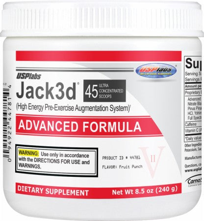 USP Labs - Jack3d Advanced 45 Doses