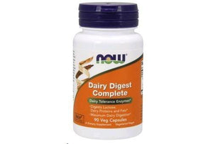 NOW Foods Dairy Digest Complete, 90 Vcaps - NutriVita