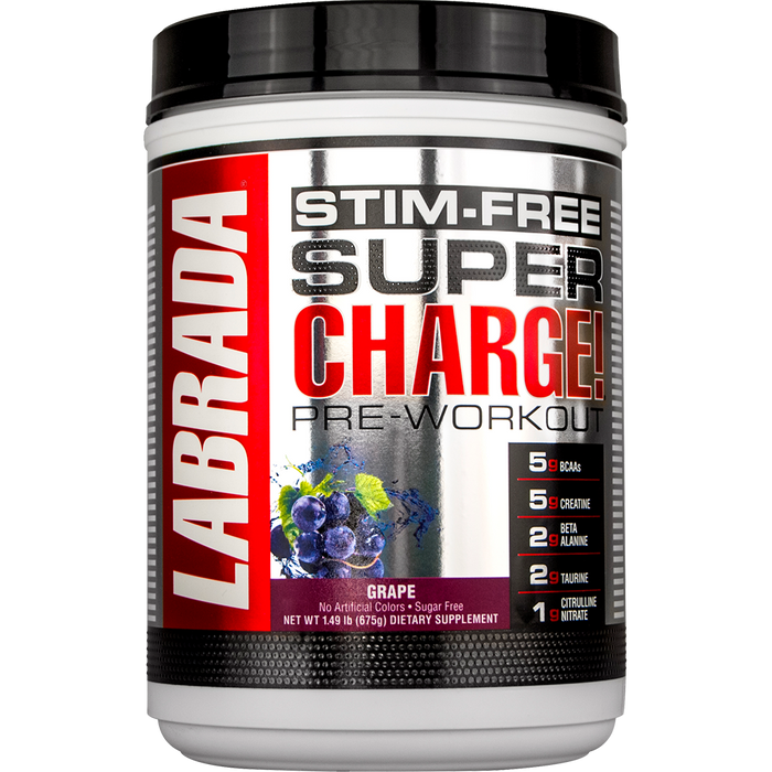 Labrada - Super Charge 5.0 Stim Free 25 Doses (1.49 lbs)