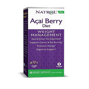 Natrol - Acai Berry 1200mg Super Diet 60 Caps