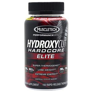 Muscletech Products - Hydroxycut Hardcore Elite - 100 Comprimidos - NutriVita
