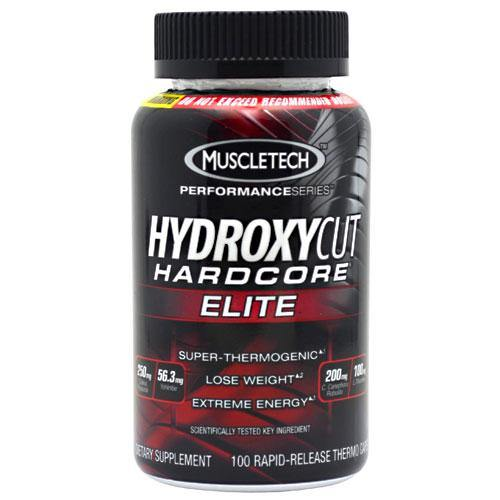 Muscletech Products - Hydroxycut Hardcore Elite - 100 Comprimidos