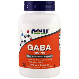 NOW GABA 500 mg,200 Veg Capsules