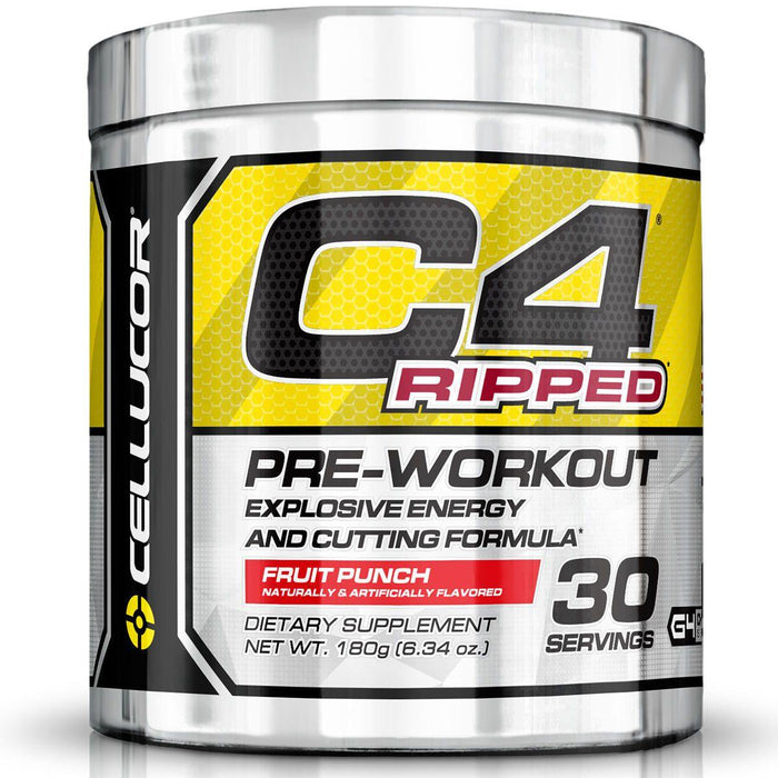 Cellucor - C4 Ripped Pre-Treino 30 Doses (180 gr)