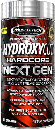 Muscletech - Hydroxycut Hardcore Next Gen 100 Caps