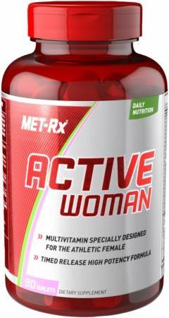 MET-Rx - Active Woman Multivitamina 90 Caps - NutriVita
