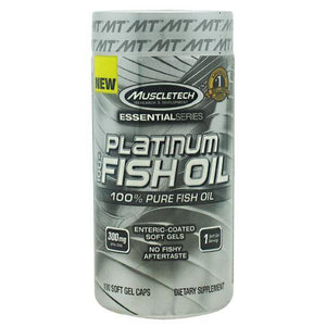MuscleTech - Essential Series 100% Platinum Fish Oil 100 Caps