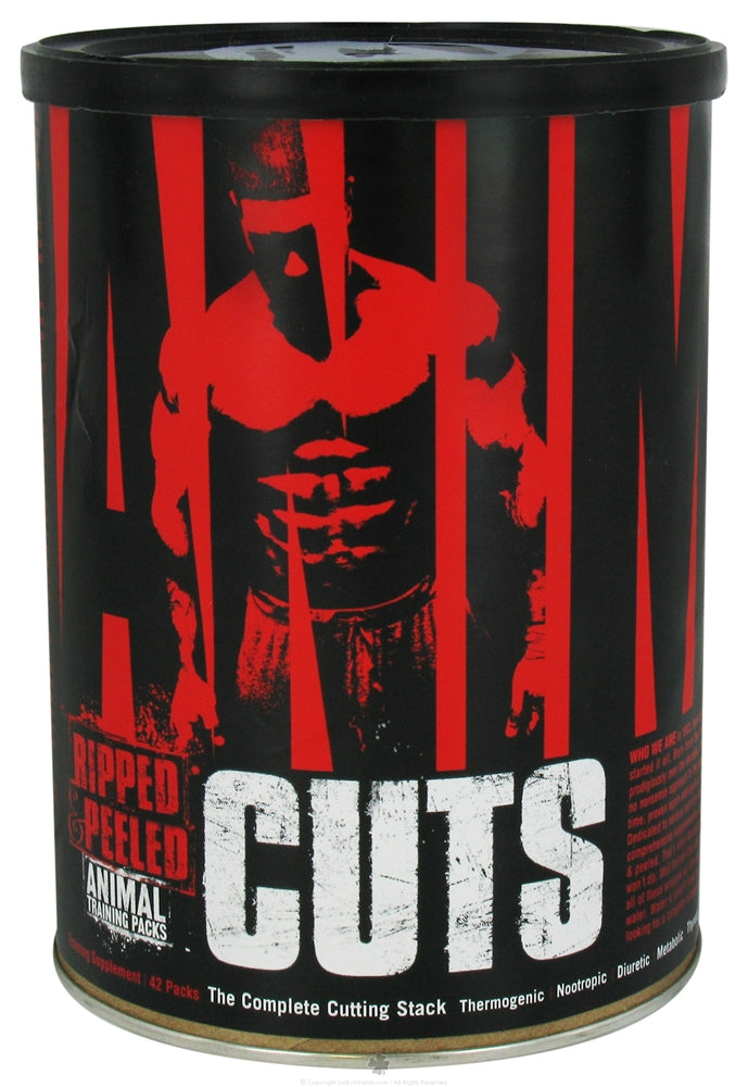 Universal Nutrition - Animal Cuts Complete Cutting Stacks - 42 Pack(s)