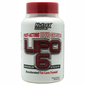 Nutrex - Lipo 6 White Label 120 Capsulas (New Formula)
