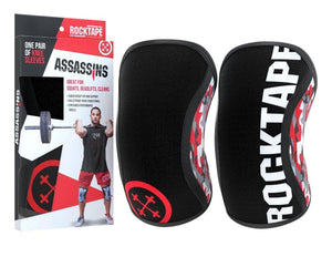 RockTape Assassins Knee Sleeves 7mm - NutriVita