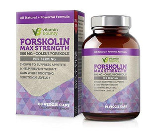 Vitamin Bounty - Forskolin 500mg - 60 Veggie Caps