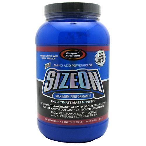 Gaspari Nutrition - Maximum Performance SizeOn 3.49 lbs. (1584 g)