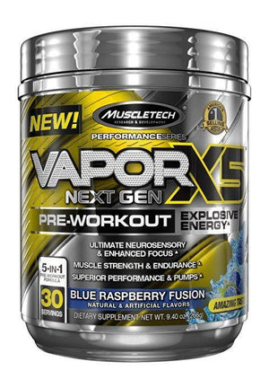 MuscleTech Vapor X5 Next Gen 30 Servings (266 Gr)