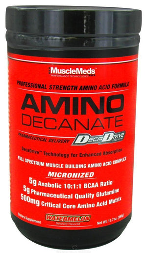 MuscleMeds - Amino Decanate Professional Amino Acido Formula - 12.7 oz.