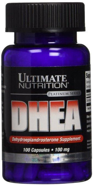 Ultimate Nutrition - DHEA 100mg 100 Caps - NutriVita