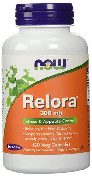 NOW Relora 300 mg 120 Veg Capsules