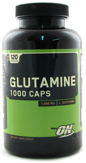 Optimum Nutrition - Glutamina 1000 Caps - 120 Capsulas - NutriVita