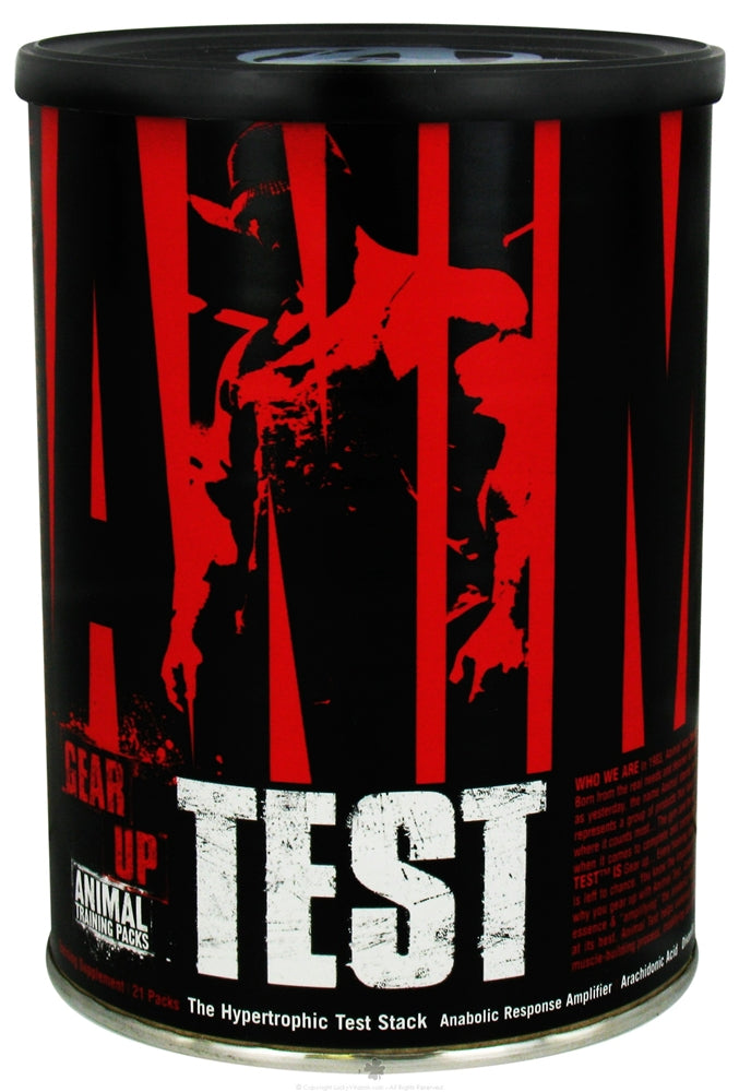 Universal Nutrition - Animal Test Hypertrophic Test Stack - 21 Pack(s)