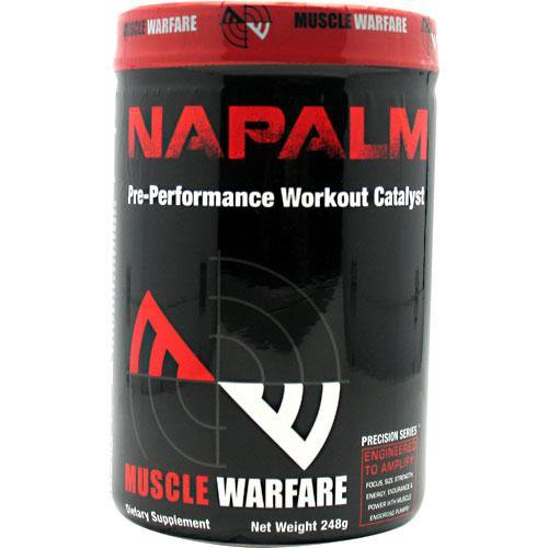 Muscle Warfare - Napalm Pre-Performance Workout 45 Servings - 248g