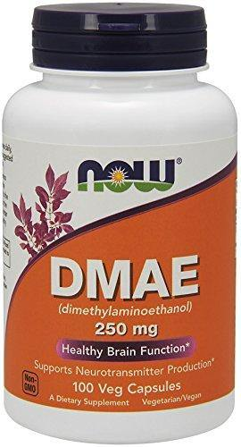 NOW Foods Dmae 100 Capsulas 250mg