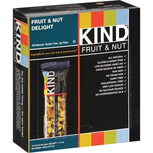 Kind Fruit & Nut All Natural Gluten Free Barras de Proteina