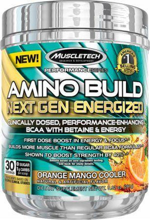 MuscleTech Amino Build Next Gen Energized 30 Doses - NutriVita