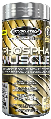 MuscleTech - Performance Series Phospha Muscle 140 Capsulas