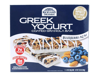 Rickland Orchards - Greek Yogurt Bar (12 Barras) - NutriVita