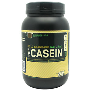 Optimum Nutrition - 100% Casein Gold Standard Natural 2 lbs (908 g) - NutriVita