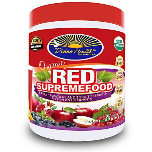 Divine Health Organic Red Supremefood Berry - 180 gr.