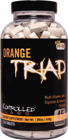 Controlled Labs - Orange Triad Multi-Vitamin - 270 comprimidos - NutriVita