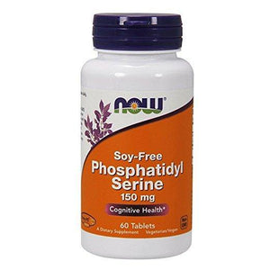 Now Foods Fosfatidilserina 150 mg, 60 Tablets - NutriVita
