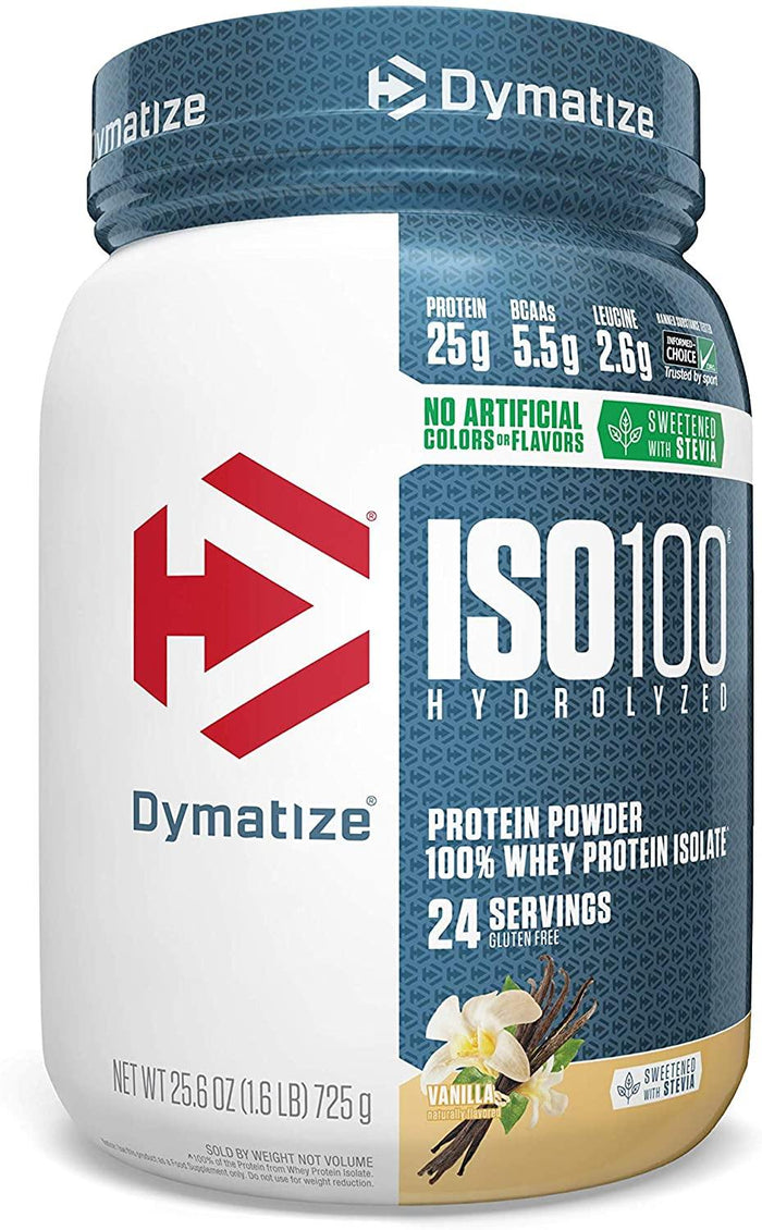 Dymatize - ISO-100 Natural Whey Proteina 1.6 lbs (726 gr)