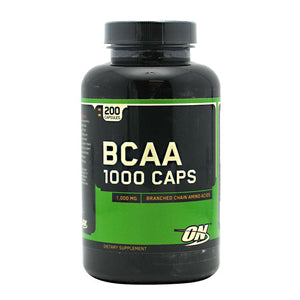 Optimum Nutrition - BCAA 1000 mg. - 200 Capsulas - NutriVita