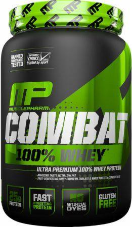 Muscle Pharm - Sport Series Combat 100% Whey Isolado 2 lbs (907 gr) - NutriVita