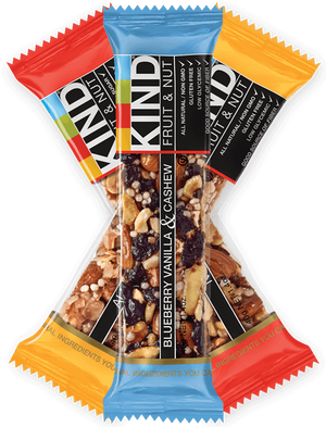 KIND Bars, Dark Chocolate Nuts & Sea Salt 12 Barras de Proteina - NutriVita