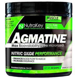 Nutrakey - Agmatine Nitric Oxide 30 servings