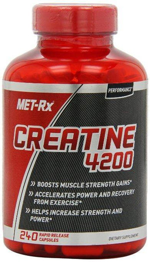 MET-Rx - Performance Creatina 4200 mg 240 Capsulas - NutriVita