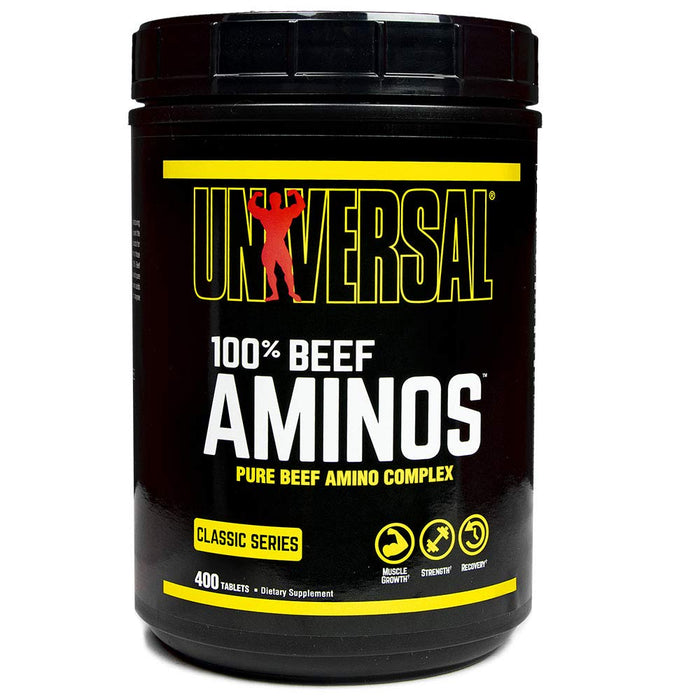 Universal Nutrition - 100% Beef Aminos - 400 Tablets
