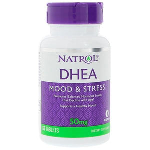 Natrol DHEA 50mg 60 Tablets