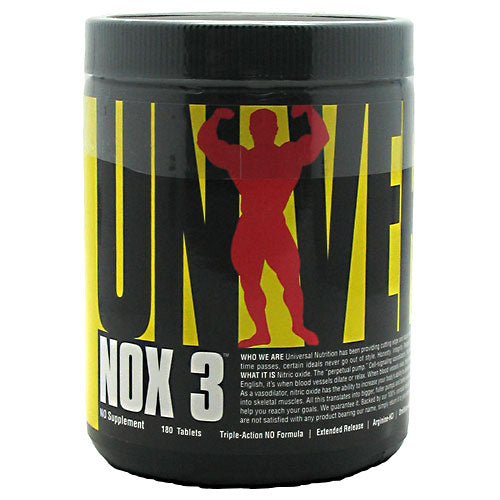Universal Nutrition - Triple Action NOX 3, 180 Tablets