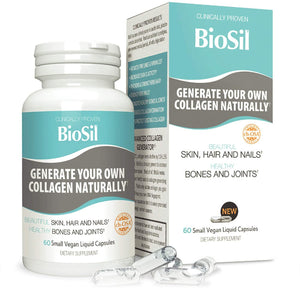 BioSil - Hair, Skin, Nails 60 Capsulas