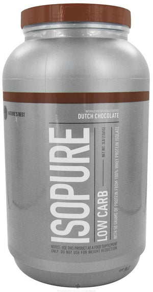 Nature's Best - Perfect Low Carb Isopure - 3 lbs.(1361 g) - NutriVita
