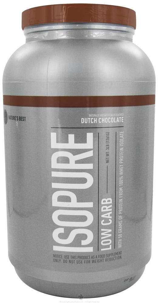 Nature's Best - Perfect Low Carb Isopure - 3 lbs.(1361 g)