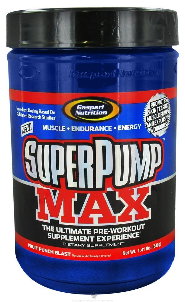 Gaspari Nutrition - SuperPump MAX 40 Doses