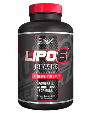 Nutrex - Lipo 6 Black Fat Destroyer - 120 Capsulas - NutriVita